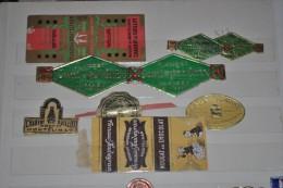 Collection De 9 étiquettes Emballages De Nougats Anciens MONTELIMAR  - SISTERON - - Cioccolato