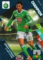 Jérémy Clément    - Saint Etienne  - Asse-ch-18 - Champion   -carte Panini Football Adrenalyn Xl - Ligue 1 - Trading Cards