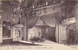 Monaco Monte Carlo Le Casino La Salle De Theatre - Casino