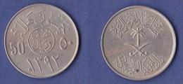*ARABIE SAOUDITE* 50 HALALA* ANNEE1980 - Saudi Arabia