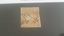 LOT 231945 TIMBRE DE FRANCE OBLITERE N�43B VALEUR 100 EUROS