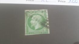 LOT 231947 TIMBRE DE FRANCE OBLITERE N�12 VALEUR 100 EUROS