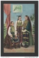 Postcard Year 1913 Stamp Tcv SERBIA ETHNIC WOMAN SERBIE SERBE FEMMES Xx - Serbia
