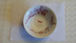 Bol porcelaine St AMAND et HAMAGE mod�le Orchid�es