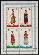 BARDSEY(wales) 1981, Europa, Costumes MS, MNH - Cinderellas