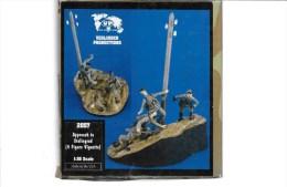 "- VERLINDEN - Figurines Et Diorama  "" Approche De Stalingrad "" - 1/35° - Réf 2057 - Figurines"