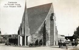 Réf : PO-14 - 437 : Exposition Du Progrès Social Lille Roubaix 1939 - Lille