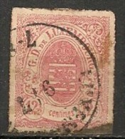 Timbres - Luxembourg - 1859-1880 - 12 1/2 C. -