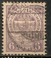 Timbres - Luxembourg - 1859-1880 - 6 C. - - 1859-1880 Armoiries