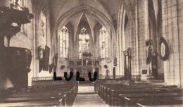 DEPT 89 ; Seignelay , Lot De 2 Cpa , L église  Et L Interieur De L église - Seignelay