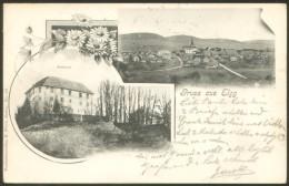 ELGG OLD POSTCARD 1908 - ZH Zurich