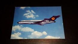 C-19009 CARTOLINA LUFTHANSA BOEING 727 EUROPA JET - AEREI - 1946-....: Moderne