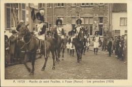 Fosse-la-Ville - Marche Saint Feuillen - Les Grenadiers 1928 ( Voir Verso ) - Fosses-la-Ville
