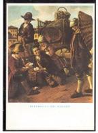 EB1376    Gioco Di Carte Sulla Piazza Del Paese (Giacomo Ceruti) - Cartes à Jouer