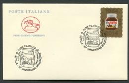 FDC ITALIA 2014 - ANNIVERSARIO REALIZZAZIONE NUTELLA - 456 - F.D.C.