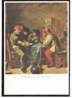 EB1379 Giocatori Di Carte (Adriaen Brouwer) - Cartes à Jouer