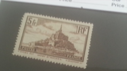 LOT 232112 TIMBRE DE FRANCE NEUF* N�260 VALEUR 25 EUROS