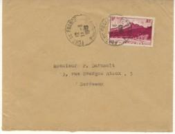 N°237 Sur Lettre De Fort De France Du 11-6-29 Pour Bordeaux - Martinica (1886-1947)