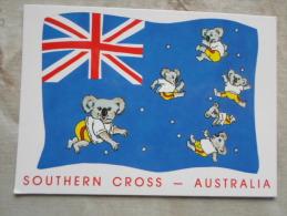 Australia  FLAG  - Humour  Animals  Koala -  Southern Cross   -       D120832 - Non Classés