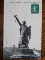 55 - FRESNES En WOEVRE - Statue Du Général Margueritte - Other Municipalities