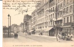 POSTAL    45.-  BOULOGNE SUR MER  - PAS DE CALAIS  - FRANCIA  - LE QUAI GAMBETTA - Boulogne Sur Mer
