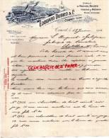 SUISSE - COUVET-BELLE FACTURE EDOUARD DUBIED-FABRIQUE MACHINES A TRICOTER-VISSERIE 1901 - Switzerland