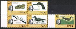 K467 FAUNA VOGELS BIRDS OISEAUX VÖGEL AVES J.J. AUDUBON PALAU 1985 PF/MNH - Oiseaux