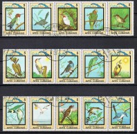 K482 FAUNA VOGELS BIRDS OISEAUX VÖGEL AVES CUBA 1983 Gebr / Used - Oiseaux