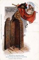 Litho 1903 DIE EISERNE JUNGFRAU Im Fünfeckigem Turm Auf Der Königlichen Burg Zu Nürnberg - Sonstige