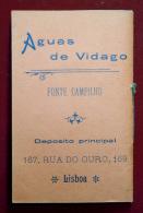 PORTUGAL - LISBOA - BRINDE TABACARIA NOVA AUREA - ALMANAQUE - 1901 OLD ALMANAC - Andere