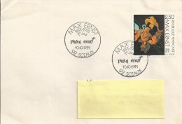 CAD Max Ernst - 1er Jour Le 10-10-1991 à SCEAUX - Bolli Commemorativi