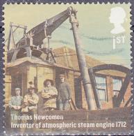 GREAT BRITAIN - 2012 Steam Engine 1712  Thomas Newcomen SG3277 1st  Fine Used - 1952-.... (Elizabeth II)