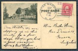 1916 USA Idylease Newfoundland NJ Postcard Upper - Switzerland - United States