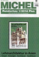 MICHEL Briefmarken Rundschau 1/2014 Plus Neu 6€ New Stamps World Catalogue And Magacine Of Germany ISBN 4 194371 105009 - Tarjetas Telefónicas