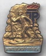 DDR - GDR - PINS  -  WINTER SPORT - 1955/56 - Wintersport