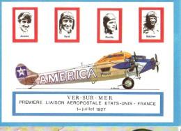 Byrd  Ver Sur Mer - Aviateurs