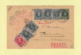 Gent Destination France - 1930 - Cartas