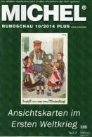 MICHEL Briefmarken Rundschau 10/2014 Plus Neu 6€ New Stamps World Catalogue And Magacine Of Germany ISBN 4 194371 105009 - Chronicles & Annuals