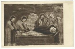 """Brescia, """"S.Francesco D'Assisi"""" - La Deposizione. Affresco Di Scuola Giottesca. - Santi"""