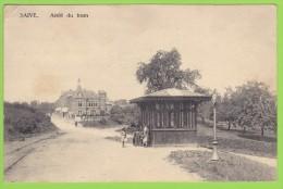BLEGNY - SAIVE - ARRET Du TRAM - écrite 1923 - édit. Beckers Dauvister - Blegny