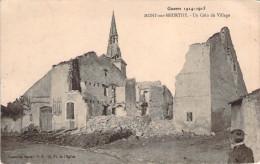 CPA Guerre 14.18 Mont-sur-Meurthe Un Coin Du Village (animée) F1793 - Frankreich