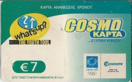 EL.- OTE. Griekenland - Greece - Grèce. COSMO KAPTA.  Wath's-up? The Youth Tool. - Griekenland