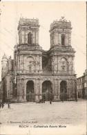 32. CP. Gers. Auch, Cathédrale Sainte-Marie (animée, Tacot) - Auch