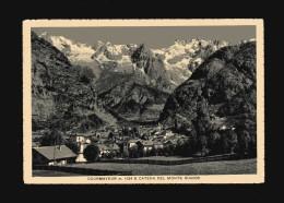 Courmayeurx- E Catena Del Monte Bianco. Timbro 01/09/1939 - Italia
