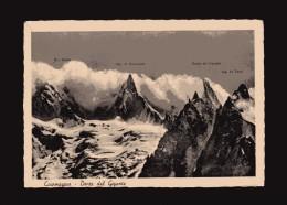 Courmayeur -x-  Dente Del Gigante. Timbro 12/08/1949 - Altre Città