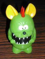 Figurine Figures Personnage Monstre Vert Porte Bonbons Vide En Plastique - Otros