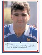 (ORL 500) France Footballer - Equipe De France De Football -  Y  Le Roux - Personalità Sportive