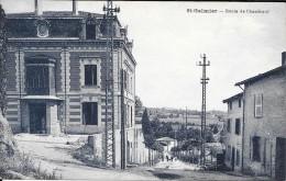 Carte Postale Ancienne Saint-Galmier. Rue De Chamboeuf. - Frankrijk