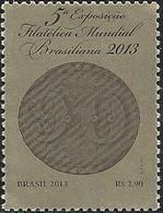 BRAZIL - 5th WORLD PHILATELIC EXHIBITION BRASILIANA 2013 - MNH - Briefmarkenausstellungen