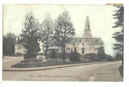 Cp, 64, Pau, Palais D'Hiveret Statue D'Artagnan, Voyagée 1906 - Pau